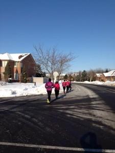 Niks Chicks winter run