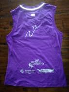Lilac shirt back